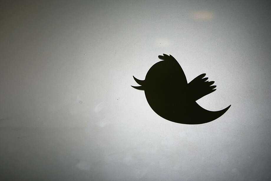 The logo of Twitter, which acquired mobile ads exchange MoPub for about $350 million in stock. Photo: Kimihiro Hoshino, AFP/Getty Images