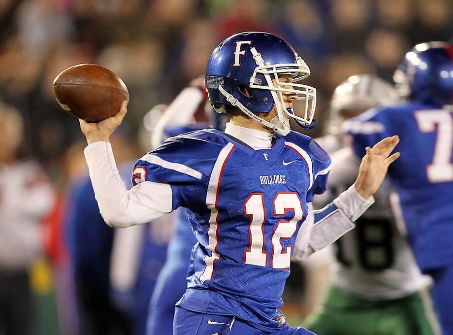 Folsom High junior Jake Browning, the Gatorade State Player of the Year, has passed for 5,393 yards and 74 TDs this season. Photo: Dennis Lee, Maxpreps