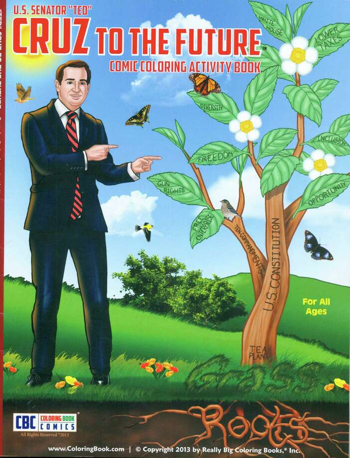 U.S. Senator Ted Cruz coloring book Photo: Courtesy Handout