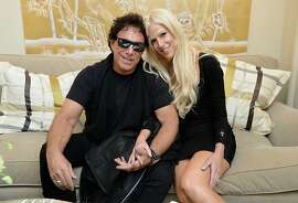 NEW YORK, NY - SEPTEMBER 10:   Neal Schon  and Michaele Salahi attend the Mercedes-Benz Star Lounge during Mercedes-Benz Fashion Week Spring 2014 on September 10, 2013 in New York City.  (Photo by Mike Coppola/Getty Images for Mercedes-Benz)