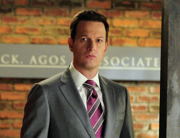 "This image released by CBS shows Josh Charles in a scene from ""The Good Wife.""  Charles was nominated for a Golden Globe for best supporting actor in a series, mini-series or TV movie for his role in ""The Good Wife""on Thursday, Dec. 12, 2013.  The 71st annual Golden Globes will air on Sunday, Jan. 12.(AP Photo/CBS, John Paul Filo) ORG XMIT: NYET798 Photo: John Paul Filo / CBS ENTERTAINMENT"