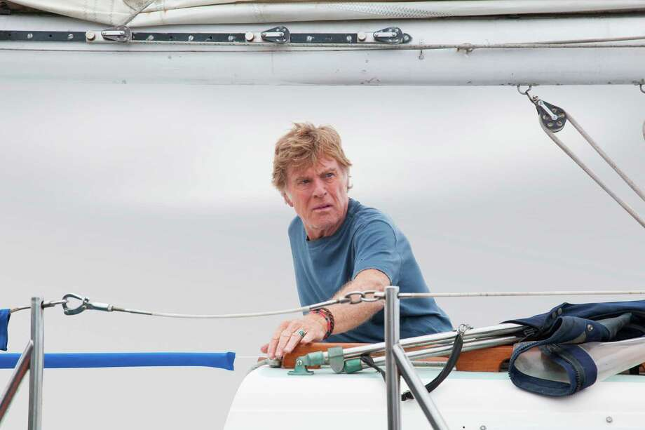 "This photo released by Roadside Attractions shows Robert Redford starring in J.C. Chandor's ""All Is Lost."" Redford was nominated for a Golden Globe for best actor in a motion picture drama for his role in the film on Thursday, Dec. 12, 2013.  The 71st annual Golden Globes will air on Sunday, Jan. 12. (AP Photo/Roadside Attractions, Daniel Daza) ORG XMIT: NYET737 Photo: Daniel Daza / Roadside Attractions"