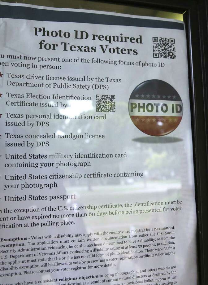 Minorities are fully capable of exercising their right to vote. That includes obtaining a voter ID card. Photo: LM Otero / Associated Press / AP
