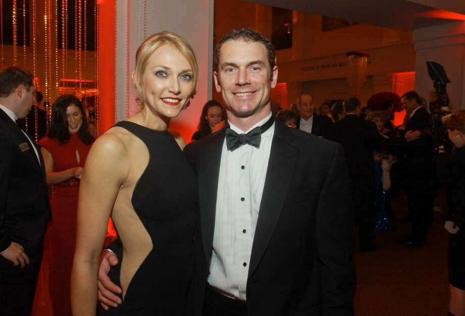 Sarah and Ben Cotting at the 2013 Houston Symphony Ball on March 8. Photo: Gary Fountain, For The Chronicle