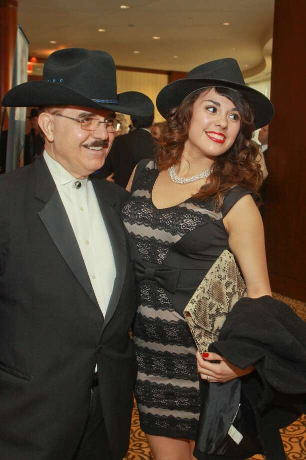 Riyad Abu-Taha and Diane Casanova at the 11th annual Texas Legends Gala on March 25. Photo: Gary Fountain, For The Chronicle
