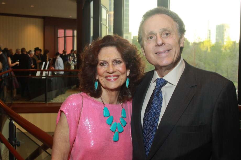 Honorary chairs Donna and Tony Vallone at the 11th annual Texas Legends Gala on March 25. Photo: Gary Fountain, For The Chronicle