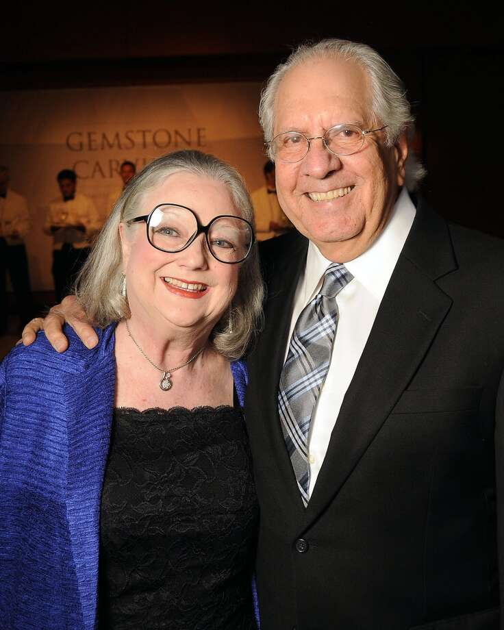Suzie and Cliff Gillock arrive at the 16th Annual Trailblazer Gala at the Museum of Natural Science on Sept. 12. Photo: Dave Rossman, For The Houston Chronicle