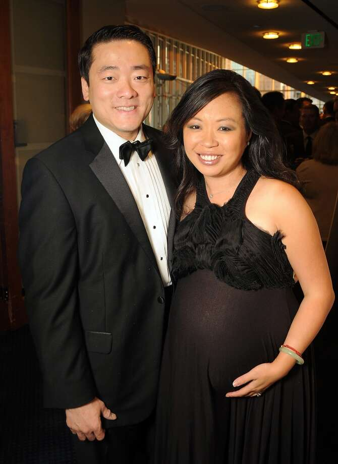 Gene Wu and Miya Shay at the Sing for Hope evening benefitting Bering Omega at the Hobby Center on Sept. 21. Photo: Dave Rossman, For The Houston Chronicle