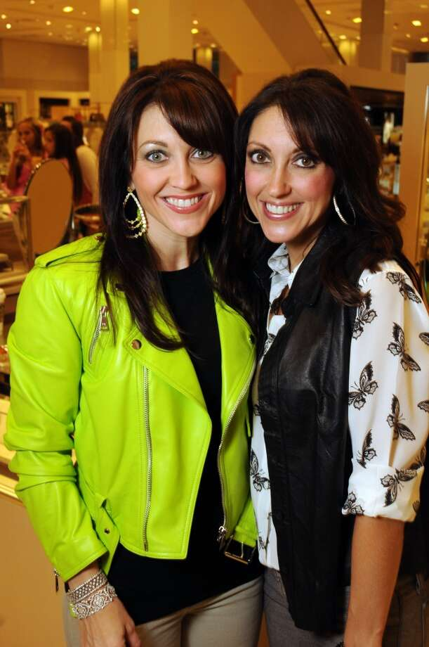 Noelle Jahncke and Coco Mahoney at the Neiman Marcus Stiletto Strut benefitting the Lester and Sue Smith Breast Center at Baylor College of Medicine on Sept. 21. Photo: Dave Rossman, For The Houston Chronicle