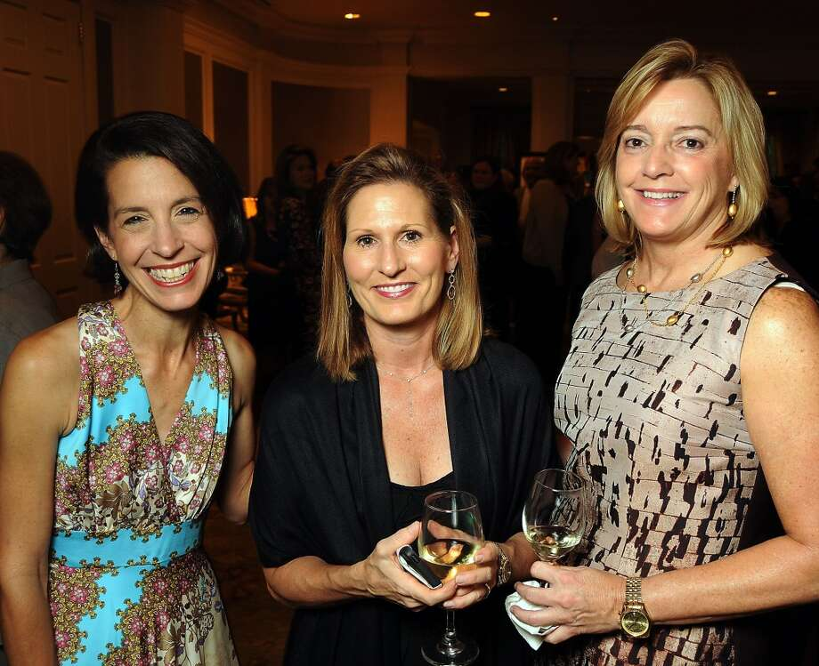 Stacie Cokinos, Pam Holbrook and Sharen Wynn at the True Colors Gala benefitting Friends for Life at the River Oaks Country Club on Oct. 3. Photo: Dave Rossman, For The Houston Chronicle