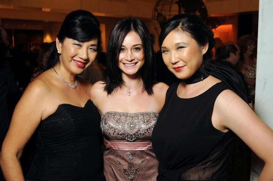 Alice Mao, Stacey Resnick and Jennifer Yen at the One People, One World Gala benefitting Medical Bridges at the Hilton Post Oak on Oct. 5. Photo: Dave Rossman, For The Houston Chronicle