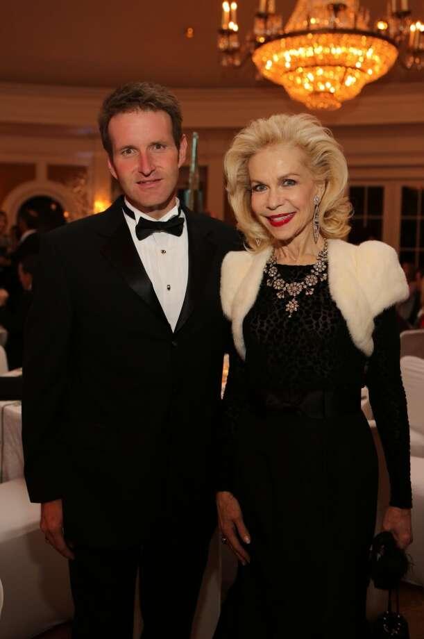 Brad and Lynn Wyatt at the Trees of Hope gala on Nov. 17. Photo: Priscilla Dickson Photography