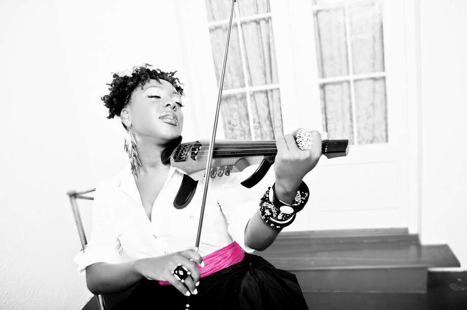 Jazz-gospel violinist Kersten Stevens, a Stratford native, returns to Connecticut for a Dec. 22 holiday concert at the Fairfield Theatre Company's Stage One. Photo: Contributed Photo / Connecticut Post Contributed