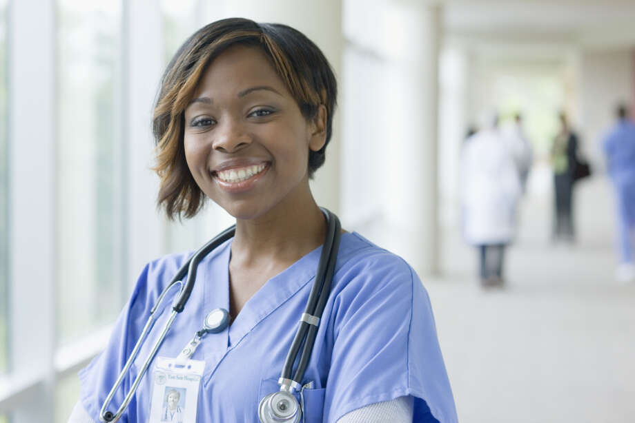 "1. Nurses82 percent of survey participants said the honesty and ethical standards of nurses are ""very high"" or ""high."" Photo: Blend Images - Terry Vine, Getty Images / Getty Images"