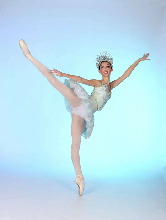 Gianna Forte, of Easton, will dance the role of the Snow Queen on Sunday, Dec. 22, at the Klein Memorial Auditorium with the New Englad Ballet Company. Photo: Contributed Photo / Connecticut Post Contributed
