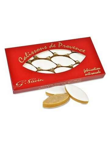 STOCKING STUFFERS: Calissons de Provence, a traditional French confection made of almond paste with a hint of candied melon and orange, are made by a Montelimar confectioner, $24, www.napastyle.com. Serve with tea or bubbly. Photo: NapaStyle