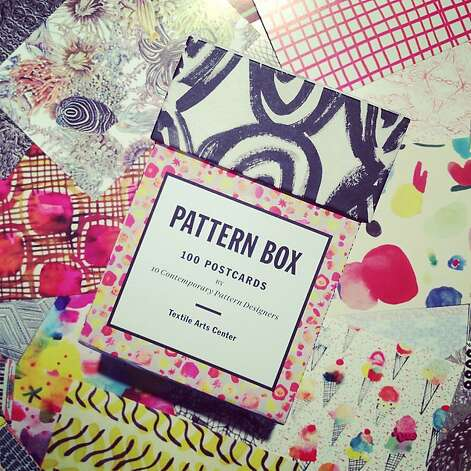 STOCKING STUFFERS: The Pattern Box is filled with 100 postcards from 10 celebrated designers including Californians, $19.95, www.papress.com. Photo: Michael Recchuiti