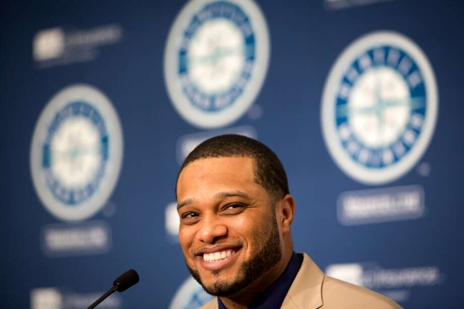 New Mariners second baseman Robinson Cano is introduced to media Thursday, Dec. 12, 2013, at Safeco Field in Seattle. Cano is the biggest free-agent signing in the team's history. (Jordan Stead, seattlepi.com) Photo: JORDAN STEAD, SEATTLEPI.COM
