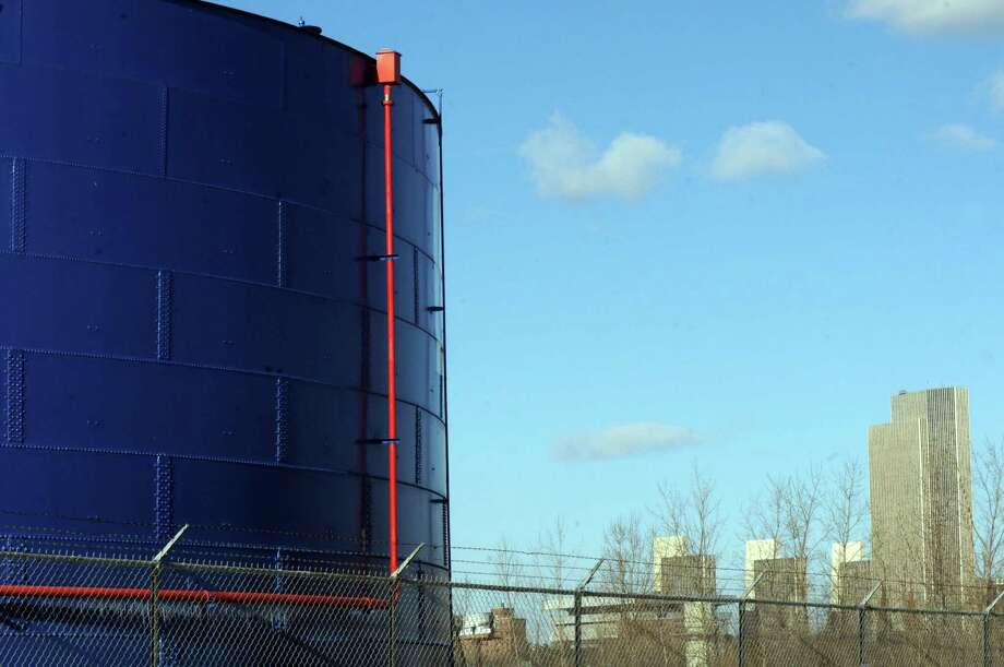 Oil tank at the Port of Albany Thursday, Dec. 12, 2013, in Albany, N.Y. (Michael P. Farrell/Times Union) Photo: Michael P. Farrell / 00025019A