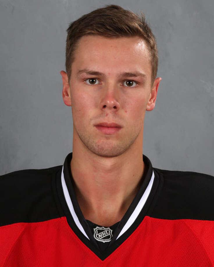 Albany Devils' Reece Scarlett Photo: Bruce Bennett / 2013 NHLI