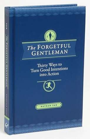 """MEN'S: Details, details, details make that special guy a gentle man. """"The Forgetful Gentleman,"""" a guide for the modern man, and accompanying stationery, $19.95 each, www.chroniclebooks.com, help in the transformation. Photo: Chronicle Books"""