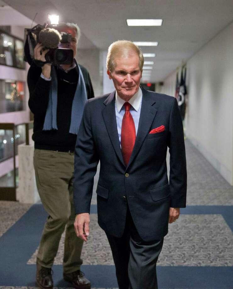 Sen. Bill Nelson, D-Fla., declined comment on the revelations on Florida constituent Robert Levinson. Photo: J. Scott Applewhite, STF / AP