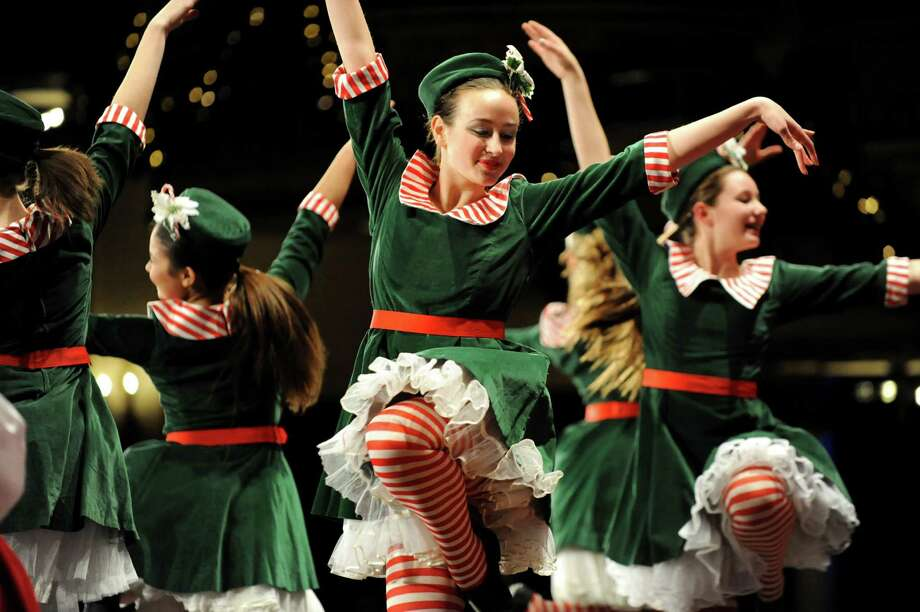 Students from the Orlando School of Dance perform during the Melodies of Christmas on Thursday, Dec. 12, 2013, at Proctors Theater in Schenectady, N.Y. The show featured the Empire State Youth Orchestra and the Empire State Youth Chorale. (Cindy Schultz / Times Union) Photo: Cindy Schultz / 00024972A