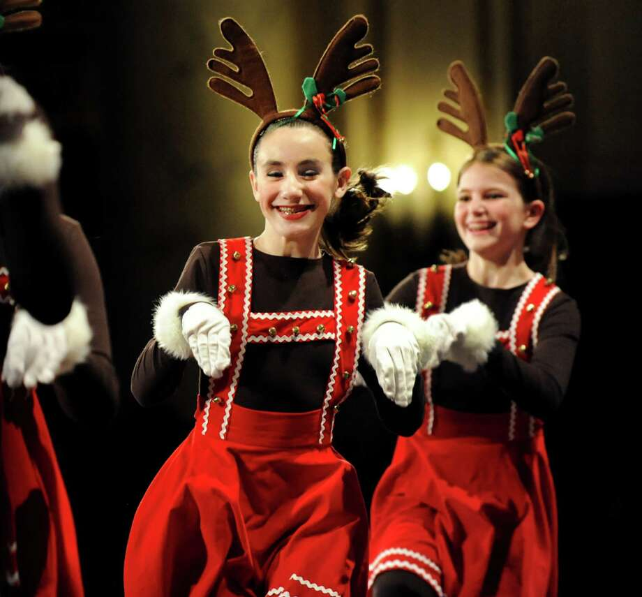 Northeast Ballet dancers perform during the Melodies of Christmas on Thursday, Dec. 12, 2013, at Proctors Theater in Schenectady, N.Y. The show featured the Empire State Youth Orchestra, the Empire State Youth Chorale. (Cindy Schultz / Times Union) Photo: Cindy Schultz / 00024972A