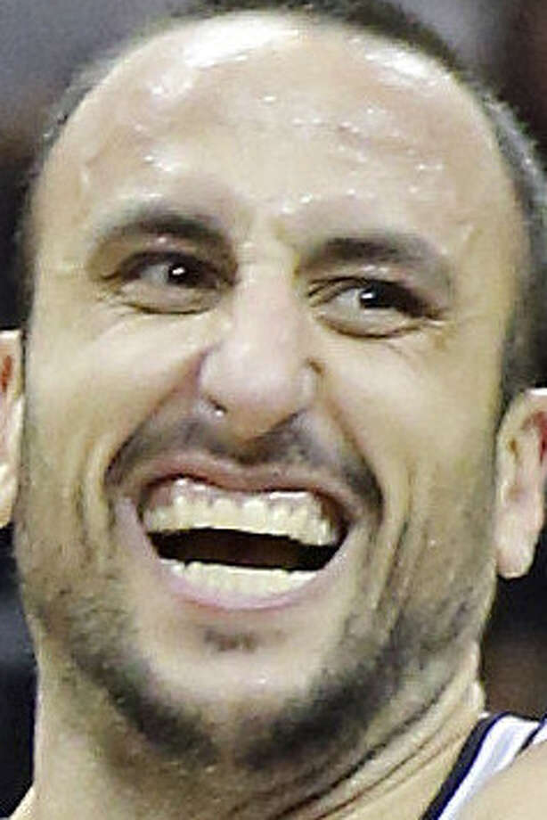 """Manu Ginobili, 36, says he's """"forcing the issue a little less"""" during his 11th season with the Spurs. / © 2013 San Antonio Express-News"""