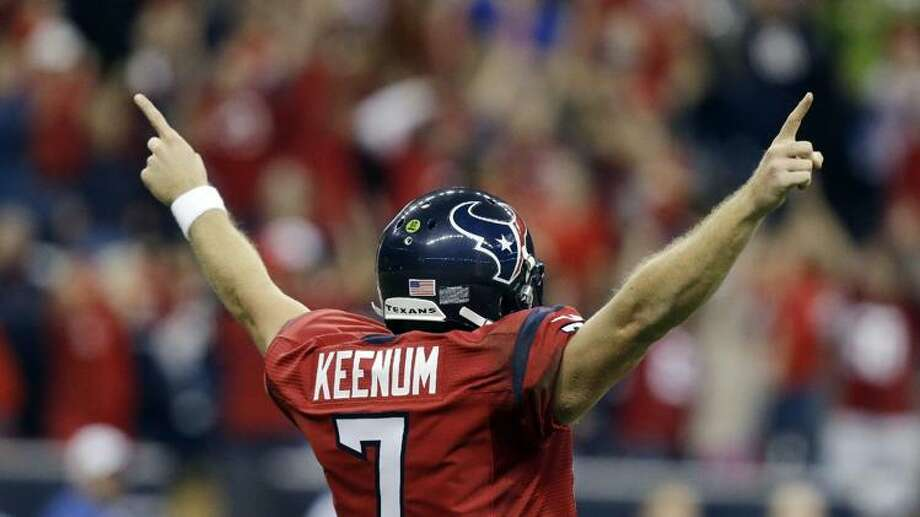 Can Case deliver what no Texan quarterback has in its history - a breakthrough win in Indy.