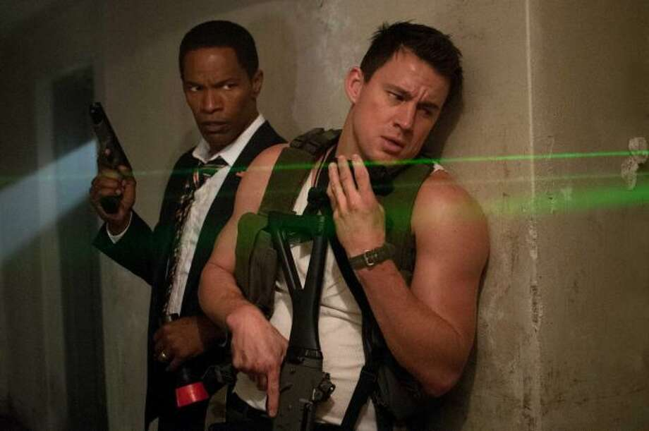 WHITE HOUSE DOWN -- one of the most enjoyable films of the year, and that should count for something.