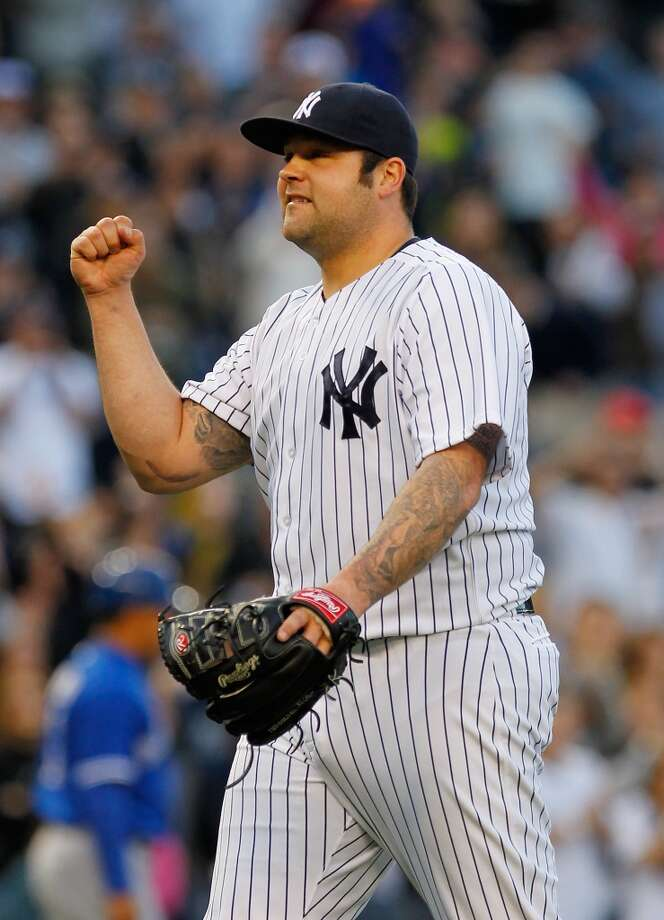 Joba Chamberlain Relief pitcher 2013 stats: 2-1 record, 4.93 ERA in 42 innings pitched. Old team: New York Yankees New team: Detroit Tigers  Photo: Mike Stobe, Getty Images