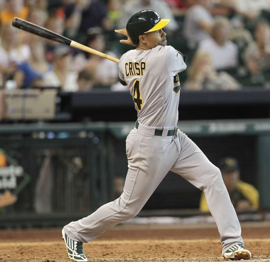 Coco Crisp Outfielder 2013 stats: .261 batting average, 22 HRs, 66 RBI Re-signed by Oakland Athletics Photo: Bob Levey, Getty Images