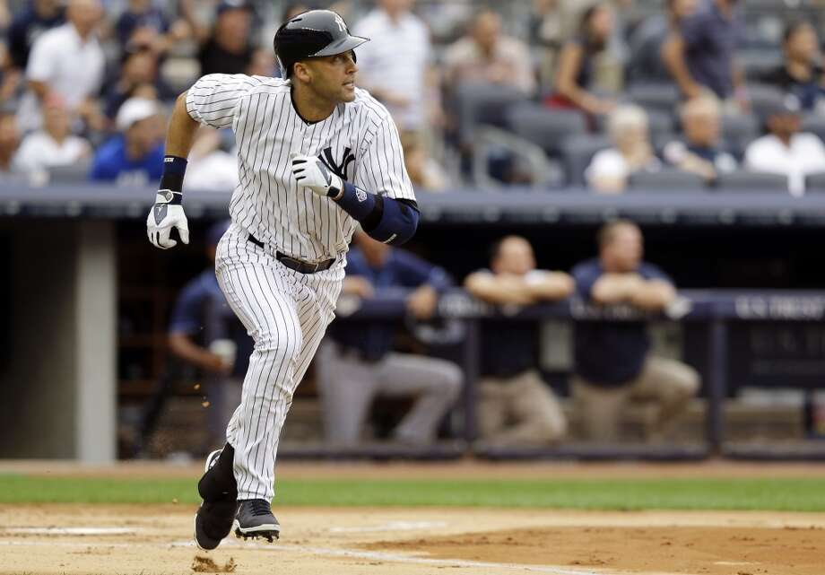 Derek Jeter Shortstop 2013 stats: .190 batting average, 1 HRs, 7 RBI Re-signed by New York Yankees Photo: Kathy Willens, Associated Press