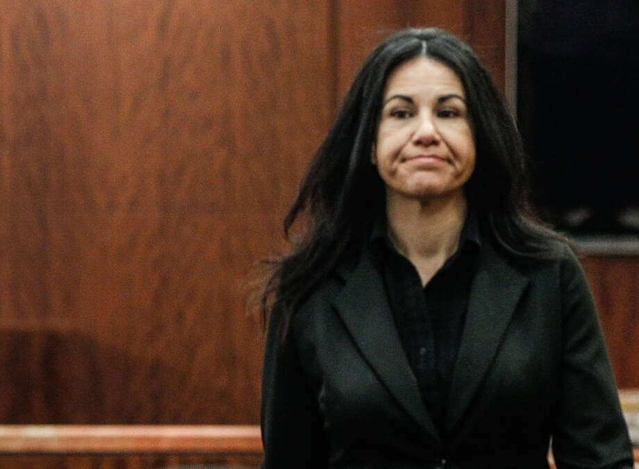 Ana Trujillo, 45, claims self-defense in the death of Alf Stefan Andersson, 59, after he attacked her. Photo: Johnny Hanson/Houston Chronicle