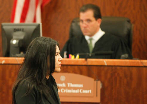 Prosecutors have said Ana Trujillo was the aggressor in a fight that erupted in the early morning hours of June 9 after the couple came home to Andersson's luxury condominium near Hermann Park. Photo: Johnny Hanson/Houston Chronicle