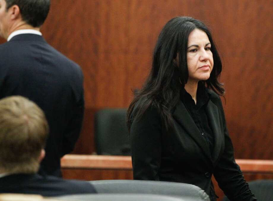 Ana Trujillo told police her boyfriend was drunk and attacked her before she was able to grab the shoe to fend him off. Photo: Johnny Hanson/Houston Chronicle