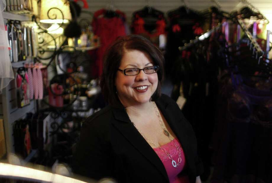 Chrystal Bougon is the owner of Curvy Girl Lingerie in San Jose, Calif., which offers items for plus-sized women. Bougon has become in a public battle with exercise and weight-loss advocates with Bougon encouraging her customers to post images of them online wearing lingerie to show larger women are sexy too. (Nhat V. Meyer/San Jose Mercury News/MCT) ORG XMIT: 1146530 Photo: Nhat V. Meyer / San Jose Mercury News