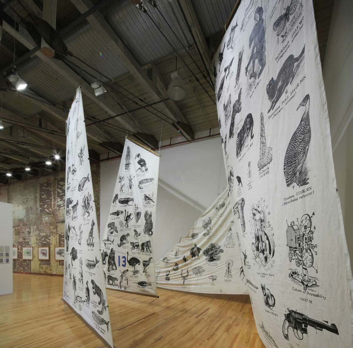 Photos Documenting Life's Work, including the work of Tom Phillips and Johnny Carrera, 2013 at Mass MoCA.