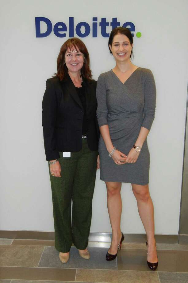 Patti Wilkie and Bethany Swartwood of Deloitte