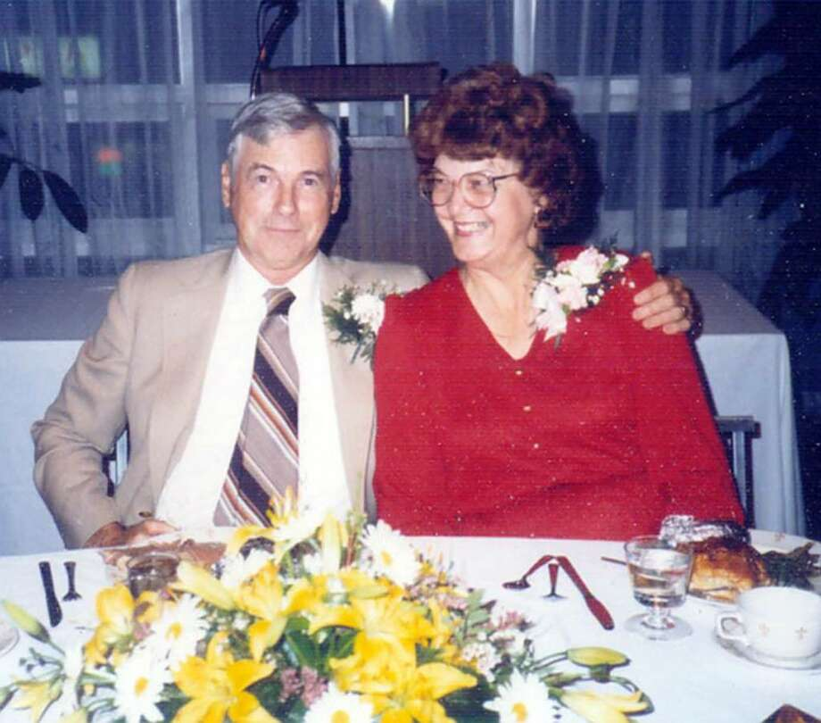 Tom Murphy,former Brookfield Selectman and fire marshall with his wife, Sally. Photo: Contributed Photo / The News-Times Contributed