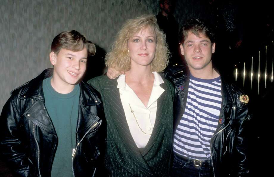 "Young teen Johnny Galecki, left, played Rusty in ""Christmas Vacation,"" joining Audrey in thinking Clark was pretty lame. Photo: Ron Galella, Ltd., Getty / 1990 Ron Galella, Ltd."