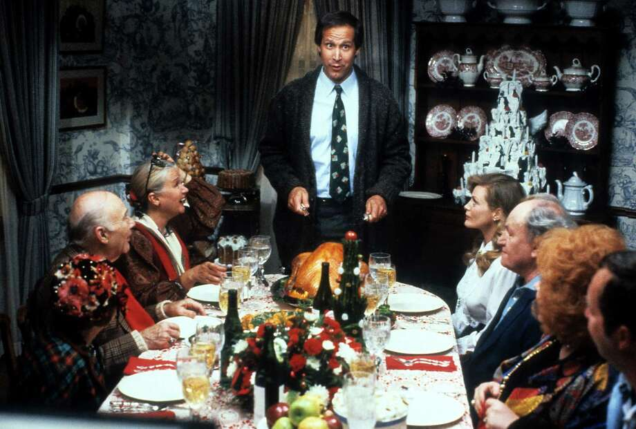 This 1989 Christmas favorite chronicles the unrelenting frustrations of bumbling patriarch Clark Griswold, that attempt to dampen his holiday spirit, from the disastrous Christmas light overkill to the doubt that he will receive the Christmas bonus he relies on every year. Photo: Archive Photos, Getty / 2012 Getty Images
