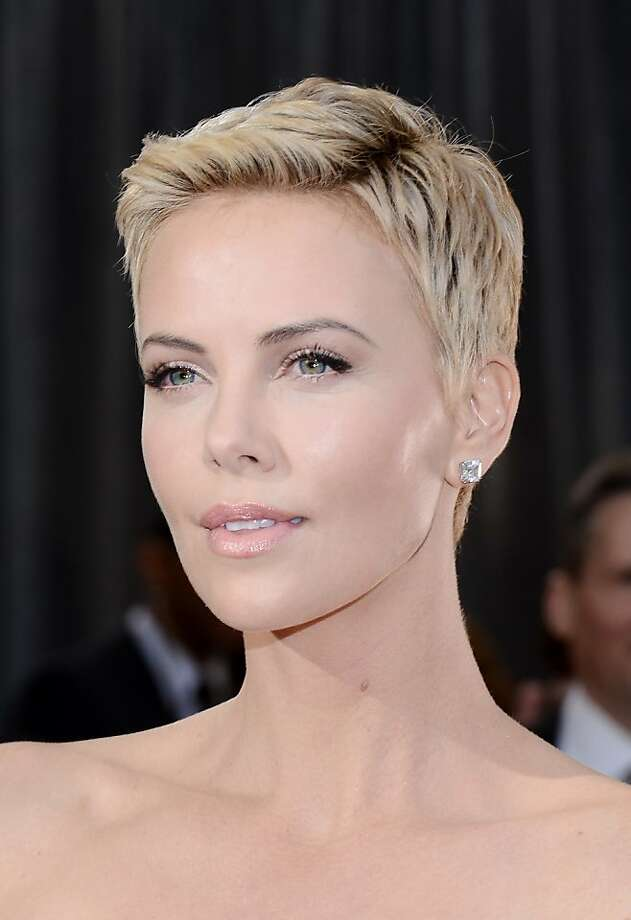 Beyoncé, Anne Hathaway, Charlize Theron, Ginnifer Goodwin, Emma Watson, Michelle Williams, Jennifer Hudson, Pamela Anderson, Miley Cyrus and Jennifer Lawrence caught the short-hair buzz and went the way of very short locks, some shaggy, close-cropped or in a style with textured layers for added dimension. Photo: Michael Buckner, Getty Images