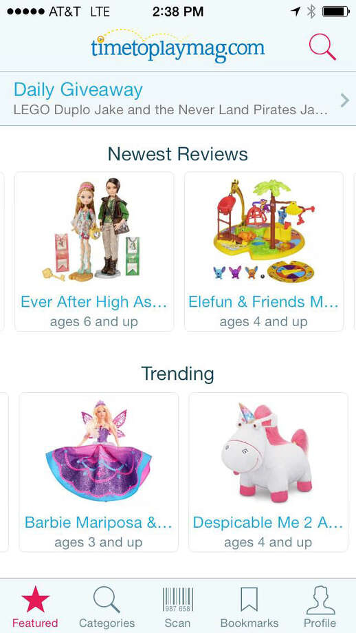 The Shop for Kids app searches for the cheapest, yet coolest toys for kids. Photo: Courtesy Image