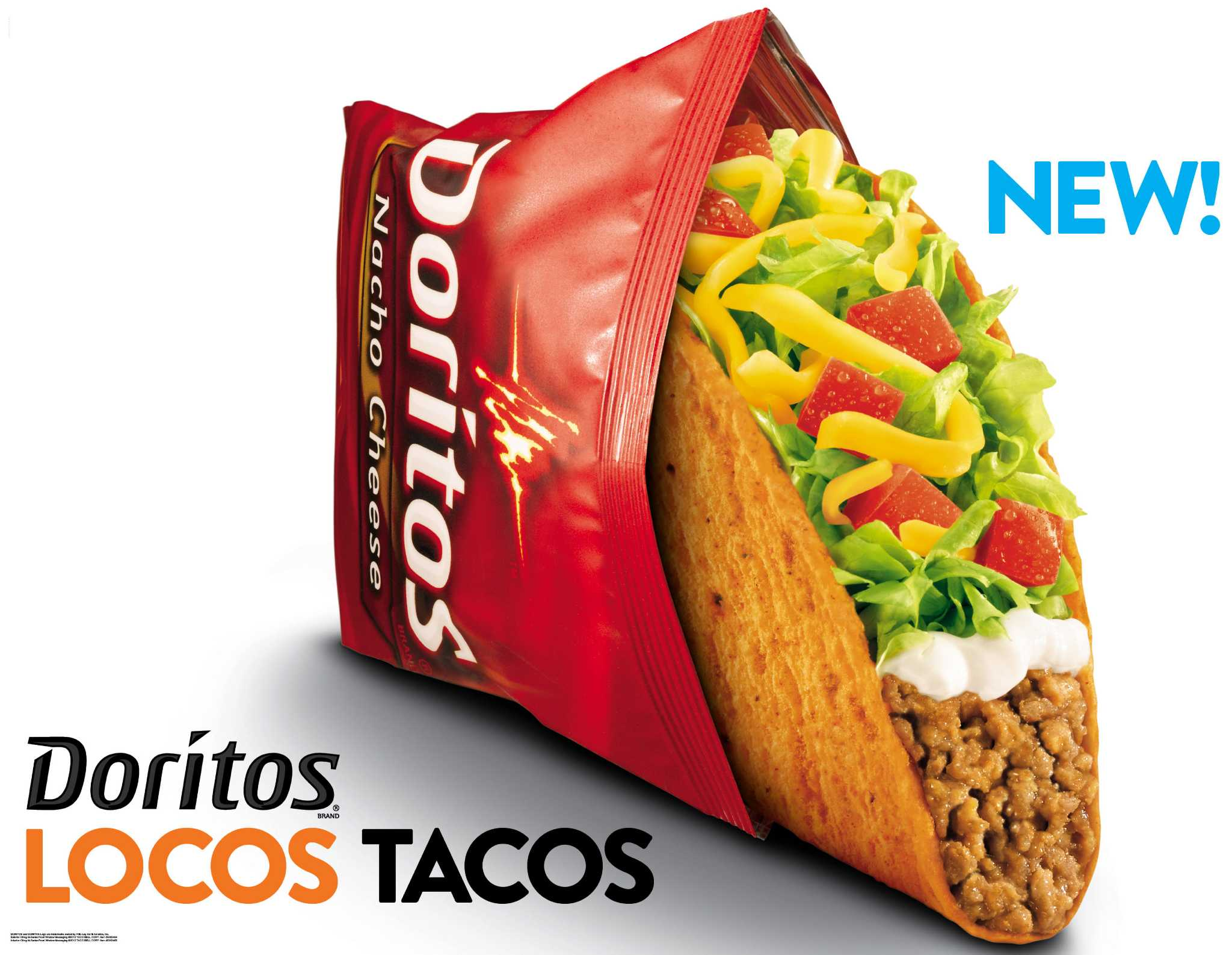 Taco Bell Giving Away Free Doritos Locos Taco From 2 6 P