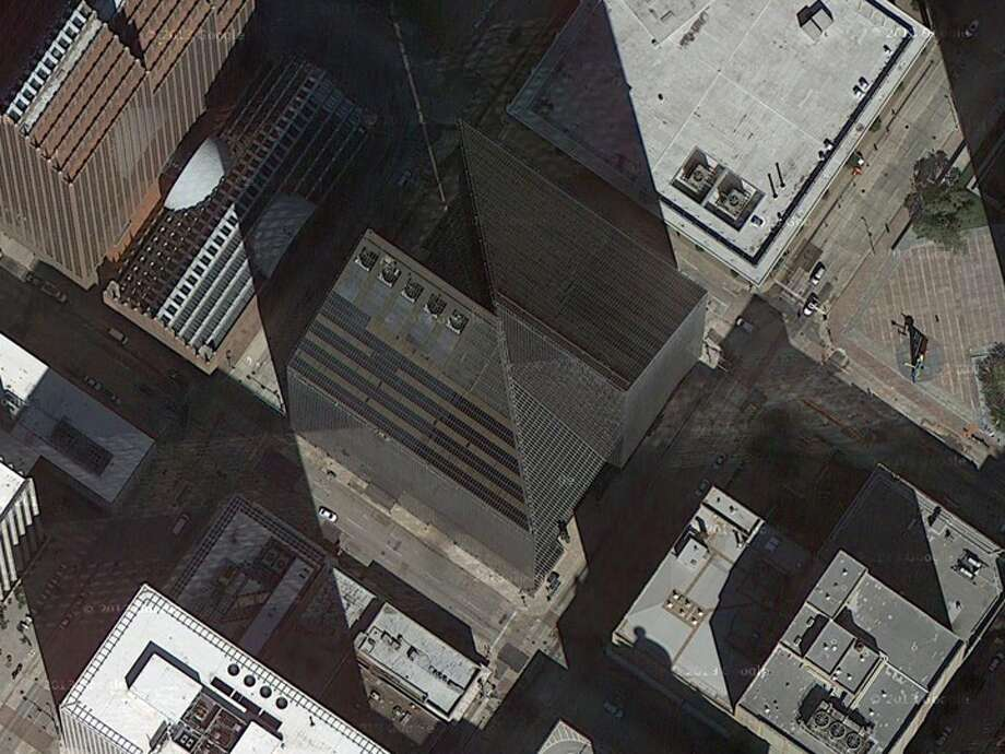 Depending on the angle from which it's viewed, this landmark may look like one or two objects.