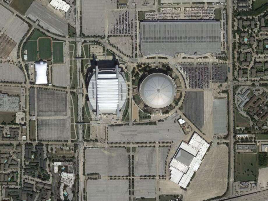 If you can't recognize these twin landmarks, you just may not belong in Houston.