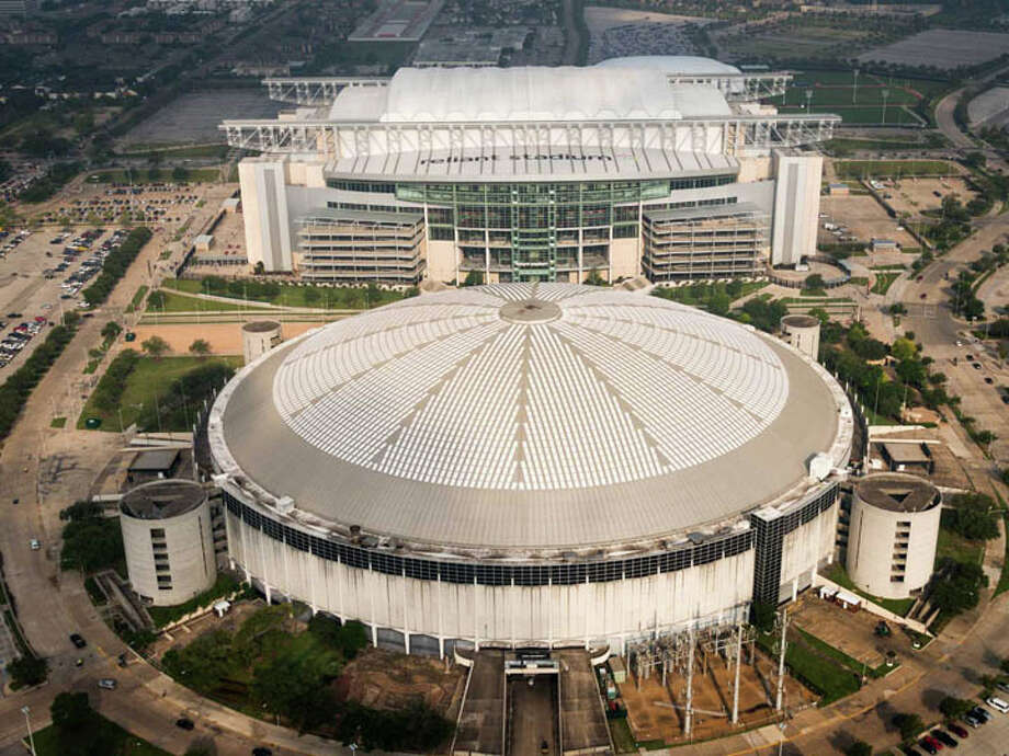 """In 2014, I resolve to work with public and private leaders to find a solution that will preserve and reuse the iconic Astrodome, Houston's landmark."" Photo: Smiley N. Pool, Houston Chronicle / © 2013  Houston Chronicle"