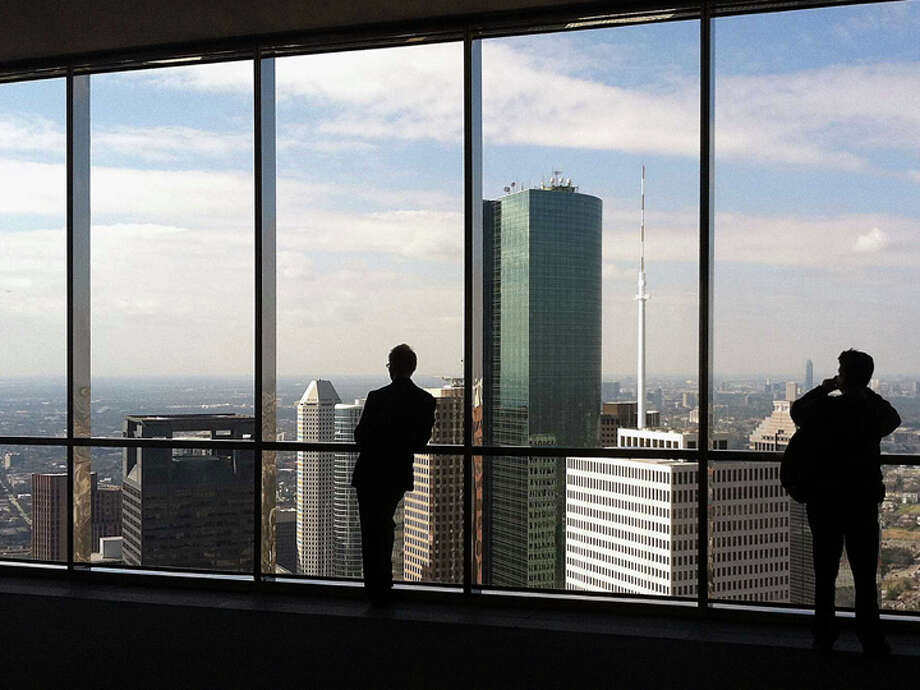 JPMorgan Chase Tower. Photo: James Nielsen, Chronicle / © Houston Chronicle 2013